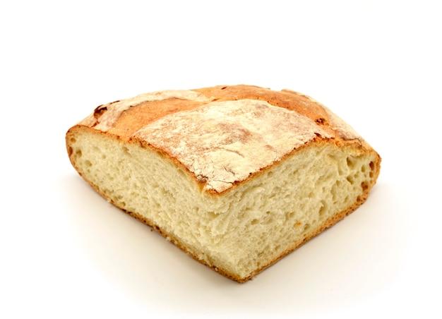 Кусок буханки хлеба