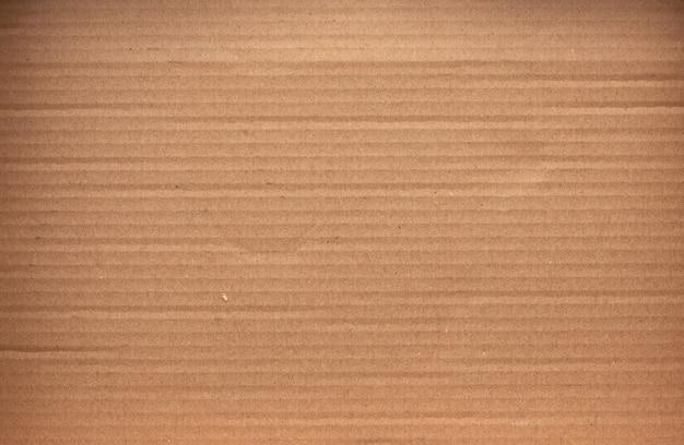 滑らかな茶色の段ボール紙、フルフレーム