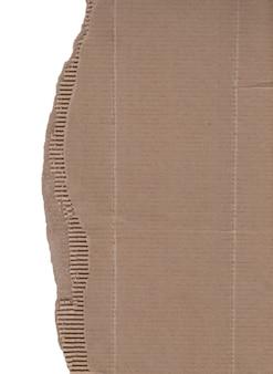 Кусок рваного картона изолирован