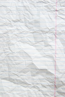 Piece of white paper background