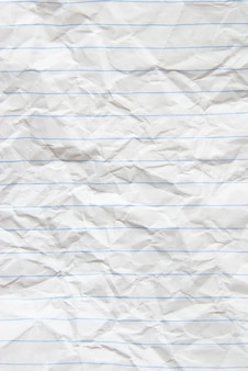 Piece of white paper great for textures and backgrounds