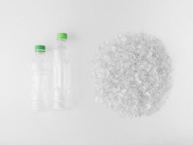 Кусочки пластика