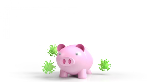 Pig and virus for medical content