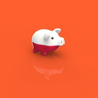 Piggy bank - 3d illustration