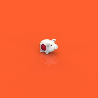 Piggy bank - 3d illustration