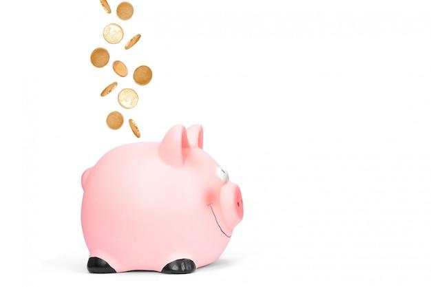 貯金箱と飛行コイン