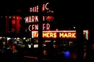 シアトル、pikestreet、publicmarket