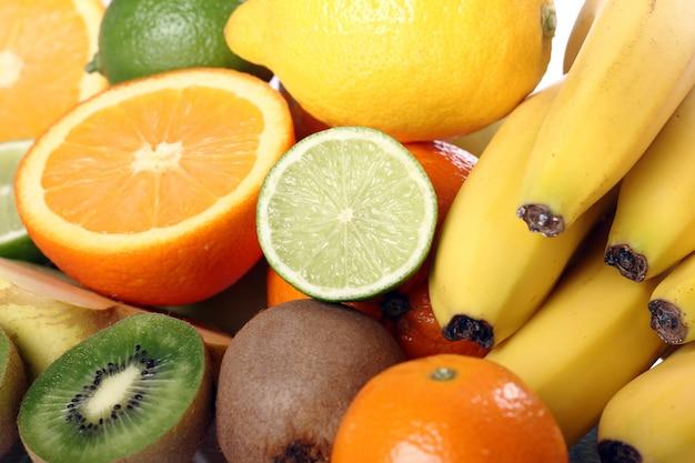 Pile of fresh fruits