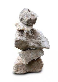 Pile of multiple granite stones