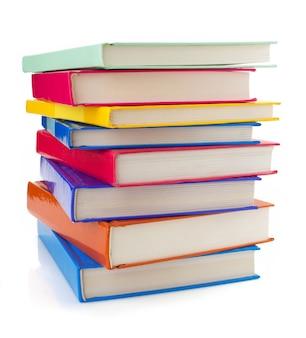 Куча книг изолированные