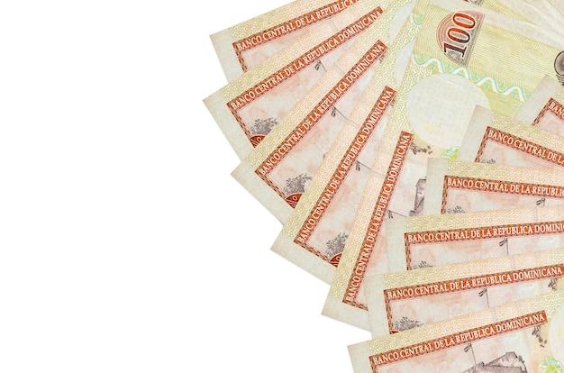 ドミニカペソ紙幣の山