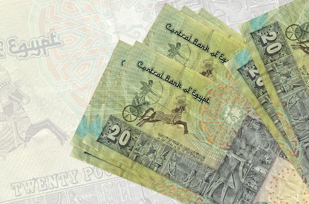 Куча банкнот египетских фунтов