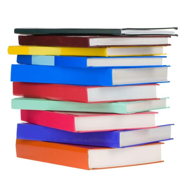 Куча новых книг изолированы