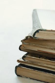 오래 된 책, 문학 개념 더미