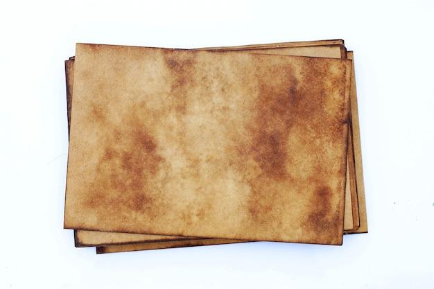 Куча старой стены гранж коричневой бумаги. абстрактная жидкая текстура цвета кофе.