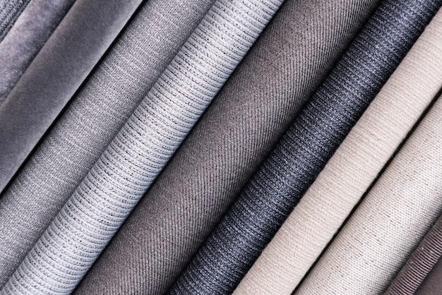 Куча текстильной фона