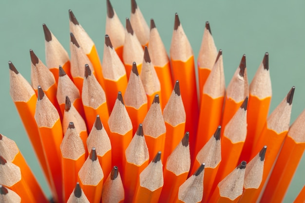 Pile of pencils