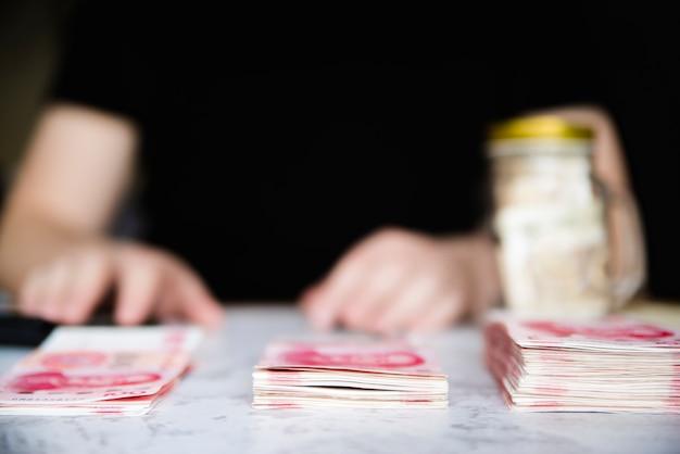 Piles of bills