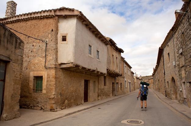 Pilgrim in the street