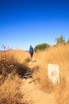 Pilgrimn along the way of st. james