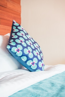 Pillow on bedroom