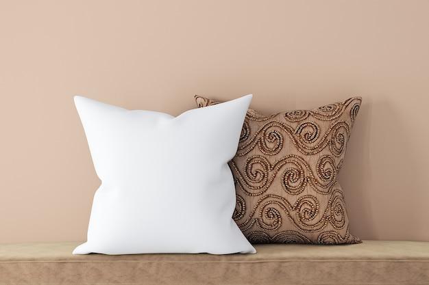 Макет подушки в стиле бохо