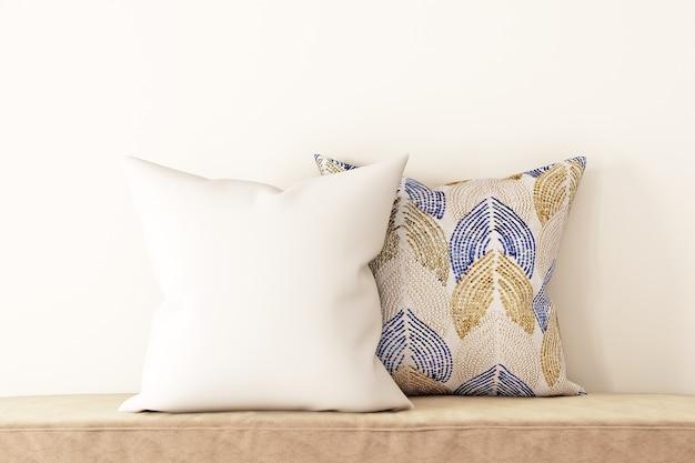 Макет подушки в стиле модерн