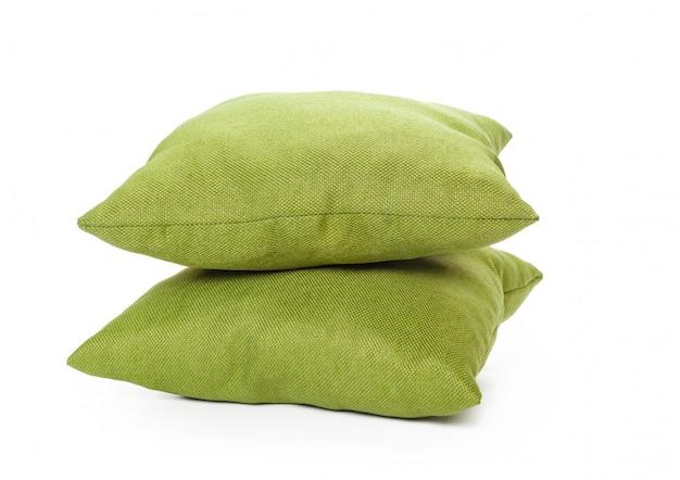 白い背景の枕