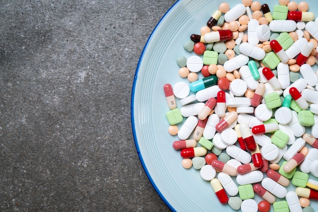 환약, 약, 약학, 약 또는 접시에 의학