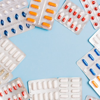 Pills in package
