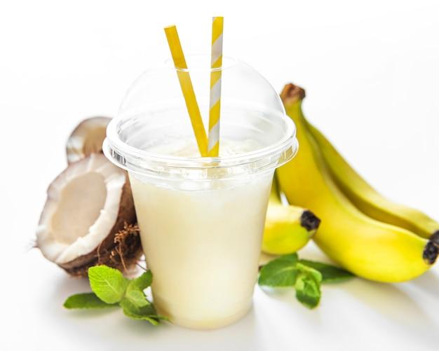 Pina colada fresh cocktail