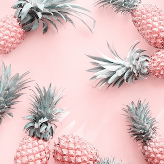 Pine apple tropical fruit pink natural organic