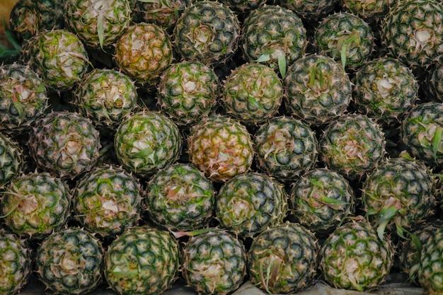 Pineapple fruit shop