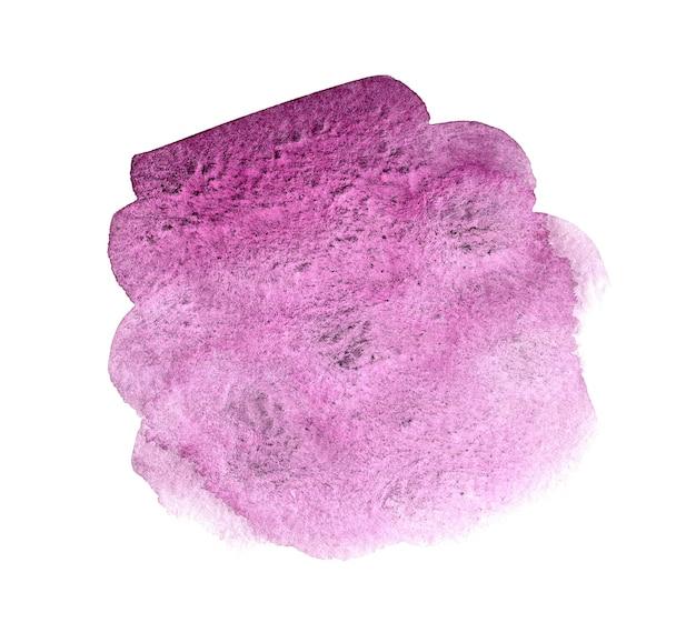 テキストまたはロゴのピンクの抽象的な手描き水彩背景。水彩クリップアート