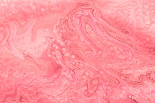 Pink abstract mixed paint background