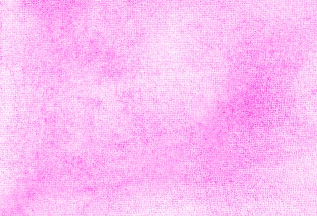 Pink abstract pastel watercolor hand painted background texture.