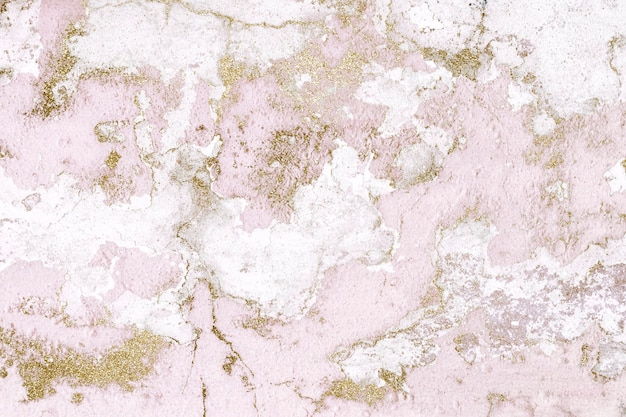 Pink aged old cracked paint background
