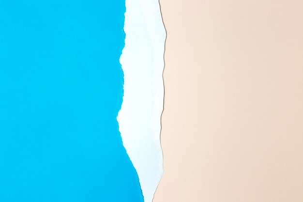 분홍색과 파란색 종이 배경 디자인