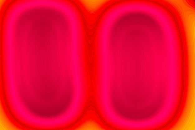 ピンクとオレンジ-抽象的な線の背景