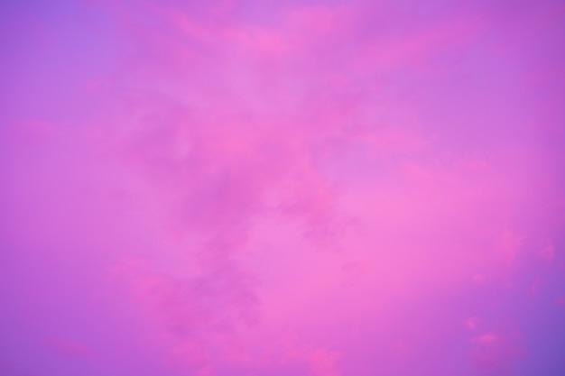 석양의 분홍색과 보라색 하늘