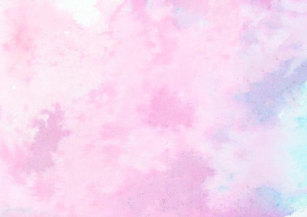 ピンクと紫の水彩テクスチャ