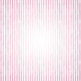 ピンクと白のグランジストライプの抽象的な幾何学的な背景。テキスト用のスペースと水彩の手描きの背景。