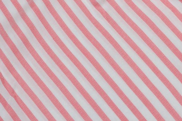 ピンクと白のストライプのシームレス生地