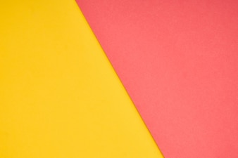 Pink and yellow pastel paper color for background