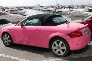 Pink audi  pink