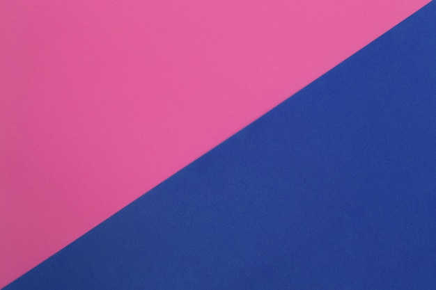 Pink and blue of cardboard art paper.