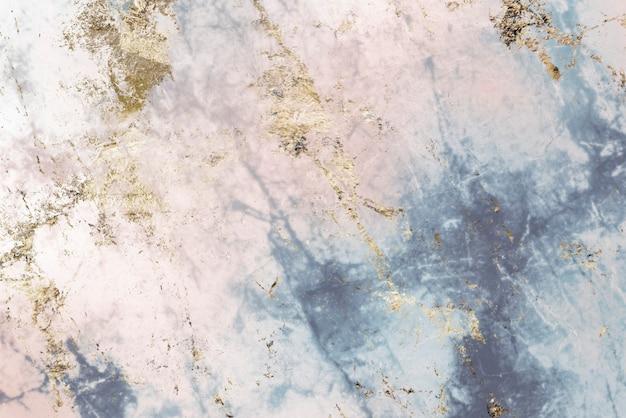 粉红色和蓝色大理石纹理背景