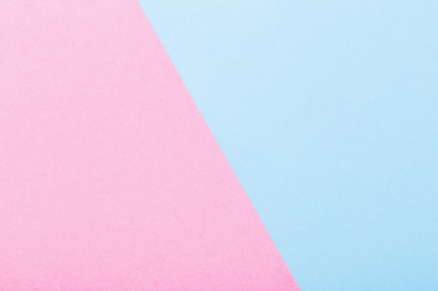 Pink and blue paper background