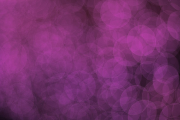Pink blurred bokeh abstract background