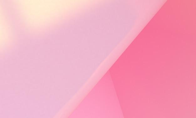 ピンクボックス3dミニマリストスタイルのデザイン、3dレンダリングの抽象的な背景。
